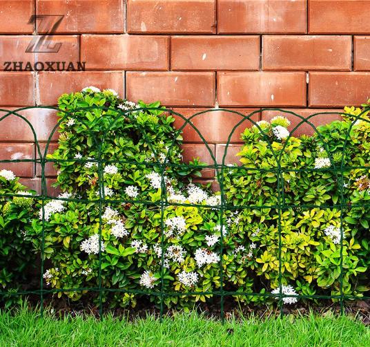 PVC Coated Border Fence /decorative garden fence