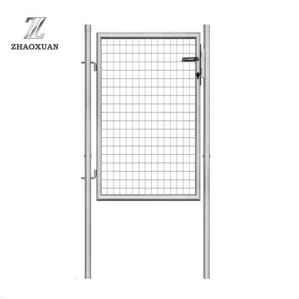 Galvanized Iron Metal Gates