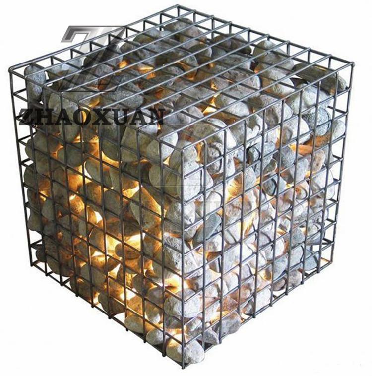 Welded Gabion Basket for Decoration