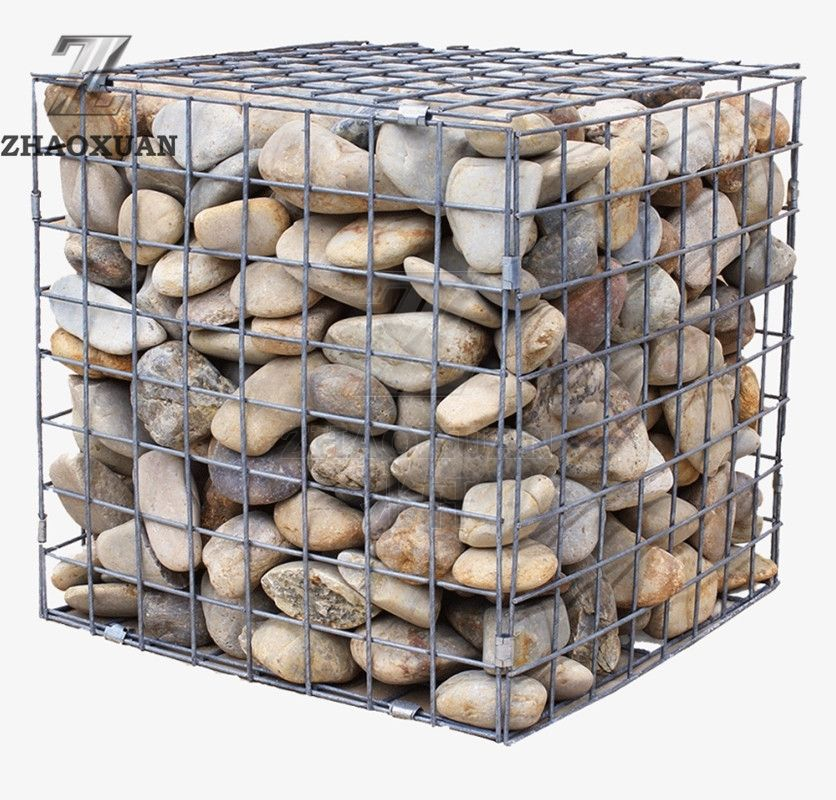 Galvanized Gabion Cages For Scenery Area/Garden/Yard