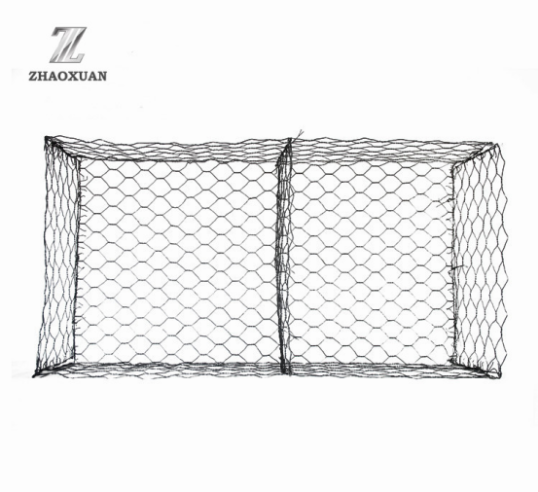 Hexagonal Wire Mesh Gabion Box Metal Box
